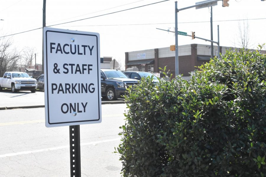 "Admin recently added signs to designate parking spaces for faculty and staff in the student lot near the gym, decreasing the number of spaces available to students. With construction workers already taking up a portion of the lower lot, students flew into a rage about the lack of spots. Senior Kaylee Hurlston said, ""Why did I pay for a $50 parking pass if there's nowhere for me to park?"""