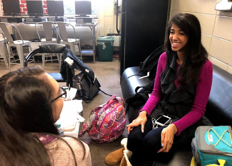 """Brianna Hewitt discusses her passions and goals, including her love for community service. Leading NC's club, Heart to Heart, Brianna holds community services high on her list of priorities. """"While in high school, I have developed to be a more rounded person,"""" Hewitt said."""