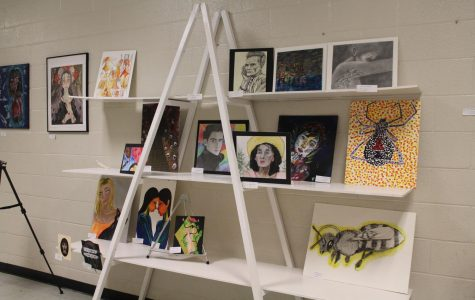 Semi-annual art show provides platform for young artists