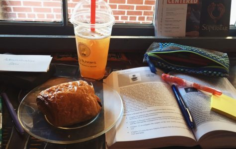 Although productivity seems to dwindle around the end of the year, the atmosphere of a coffee shop always feels full of inspiration and motivation. Luckily, the Kennesaw-Marietta area offers multiple coffee shops for students to write their final essays and study for AP exams.