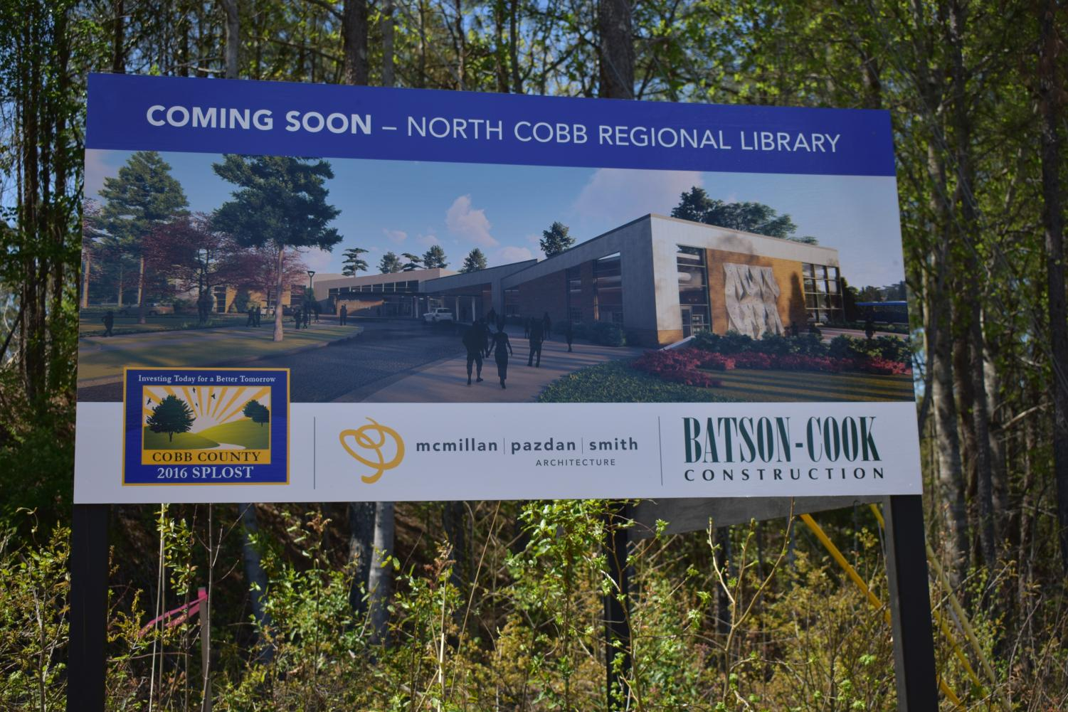 Cobb County's plan to bring together Acworth and Kennesaw libraries progresses into a physical plan for the consolidated library.