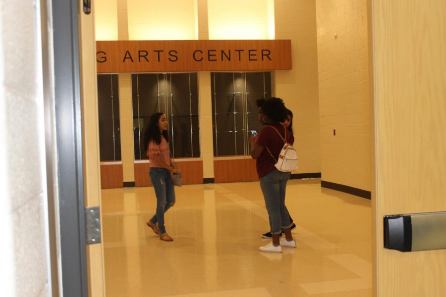 Held in NC's brand new Performing Arts Center, the rising ninth grade parent and student night covered graduation requirements, course request, and the benefits of the Freshman Academy.