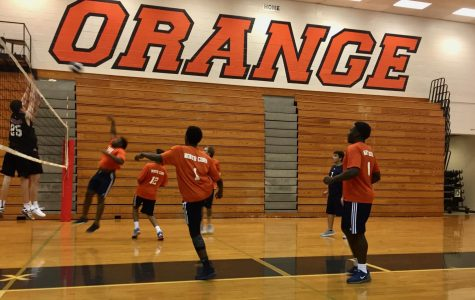 Men's volleyball team sets up promising season