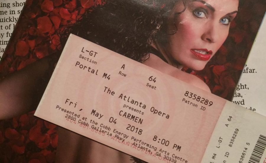 The+Atlanta+Opera+recently+performed+its+popular+rendition+of+Georges+Bizet%E2%80%99s+Carmen.+The+opera+follows+the+doomed+romance+between+Carmen%2C+played+by+Varduhi+Abrahamyan%2C+and+Don+Jose%2C+portrayed+by+Gianluca+Terranova%2C+from+its+earth-shattering+beginning+to+its+tragic+conclusion.