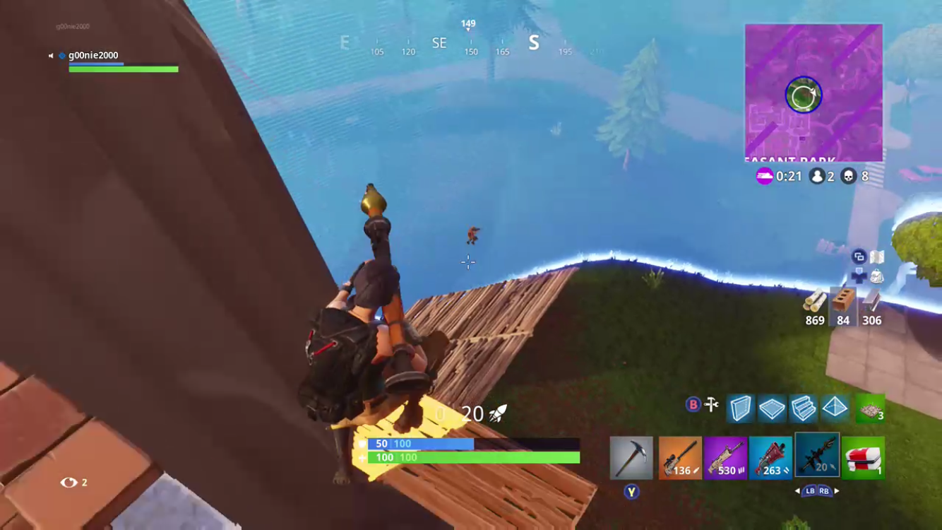 A Fortnite player reloads the rocket launcher and goes for the Victory Battle Royale. Today's prime and growing game has swept across the world, bringing in gamers into the beloved Fortnite community.