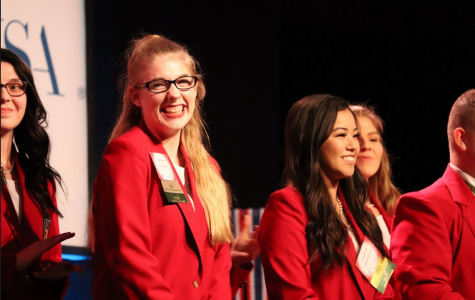 LaPierre rises through the ranks and earns SkillsUSA state officer position