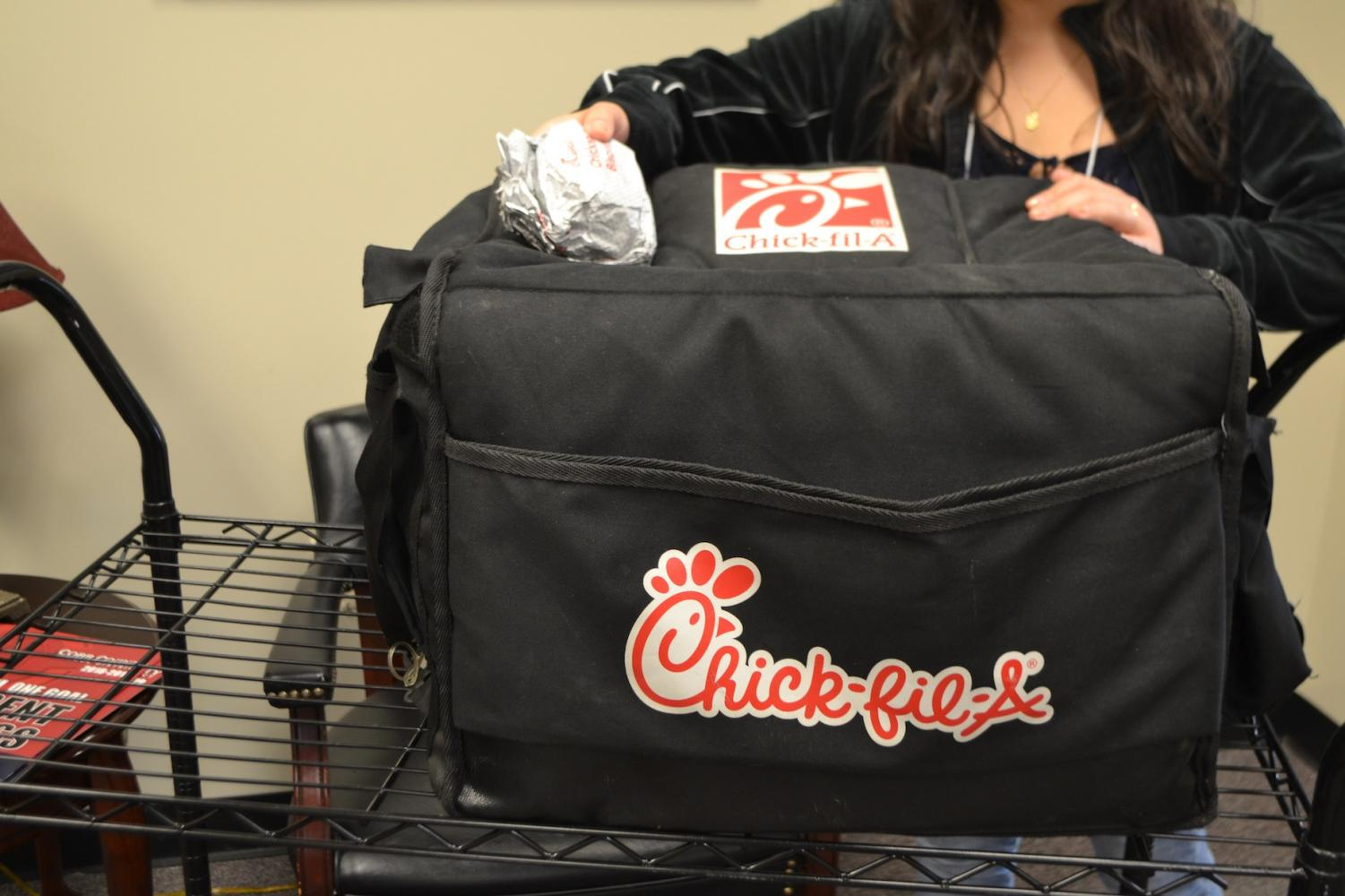 """The first full week of school after summer means the start of the sale of Chick-fil-A chicken biscuits outside of Admin One. From now until the end of the school year, the delicious smell of bread and chicken fill the front of the school as students line up to purchase a biscuit for $3 before running off to their first period class. """"Chicken biscuits allow the school to make money and fundraise while also providing something that everyone loves: Chick-fil-A,"""" senior Harrison Haley said."""