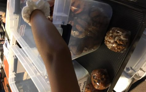 Coach Tener, located in Room 113, sells muffin flavors including blueberry, chocolate chip, and even double chocolate every morning before first period. Students can purchase the plastic-wrapped, mouth-watering muffins for $1.50 each, providing an emotionally and physically fulfilling breakfast.