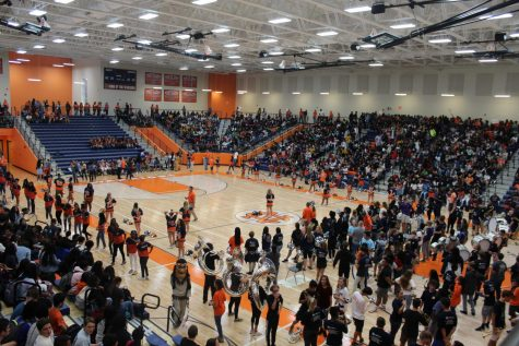 Pep rally hypes up Warriors for annual Civil War Classic