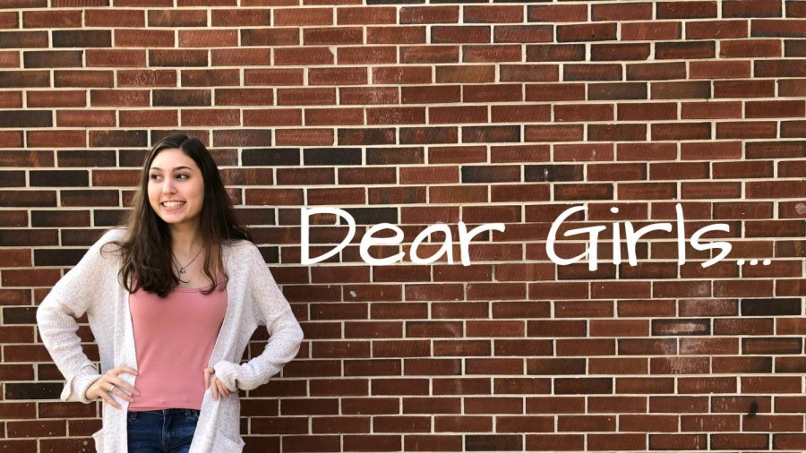 "Jordan Ross represents a new wave of powerful women exploring the world. In her original instagram post, Ross posted a blank image with two words on it: ""Dear girls."" These words provided an emotional foreground for her followers."
