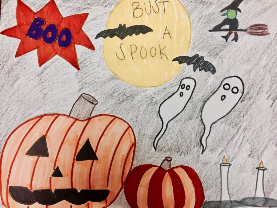 Spooky+season+arises+in+the+midst+of+all+things+spooky+for+Halloween.+Halloween+costumes+await++at+store%2C+ghosts+and+ghouls+lurk+upon+the+evening+sky%2C+vampires+and+werewolves+prance+through+the+minds+of+children%2C+and++jack-o-lanterns+sit+on+porches+to+light+up+the+night.+Prepare+for+the+Halloween+spirit+for+spooky+season+waits.+