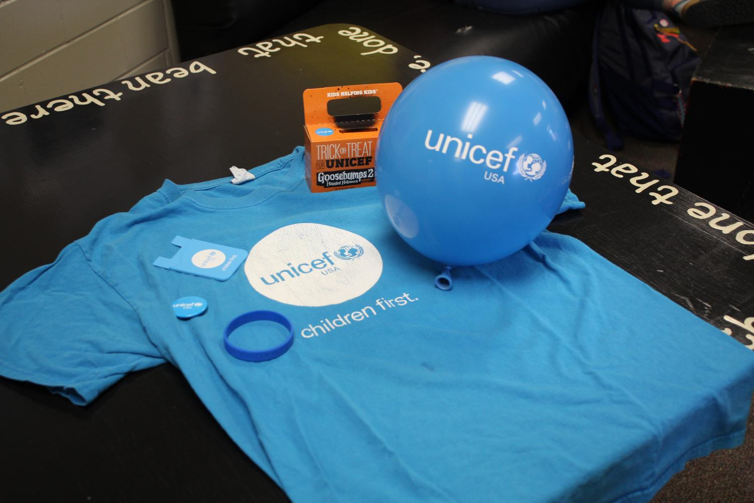 On the first Thursday of every month, UNICEF holds a meeting in Angela Milani 3067 to discuss fundraising plans for their new awareness theme. For September's education theme, they held a school supply drive, and for October, they plan on raising some extra donations for the club.