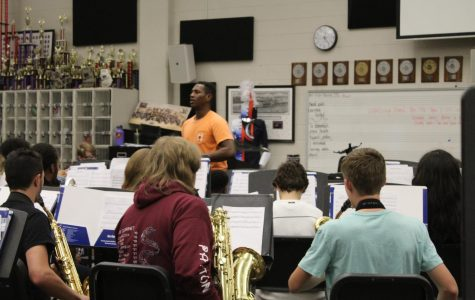 Sheldon Frazier, one of NC's band directors, set up a chapter of the nationwide program Tri-M to provide an opportunity for fine arts students from orchestra, band, and chorus. Frazier teaches his symphonic band which contains a number of students who participate in Tri-M.