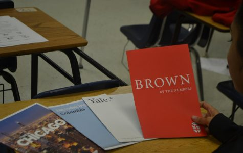 Four for the price of one: Brown, Columbia, UChicago, and Yale visit Marietta HS