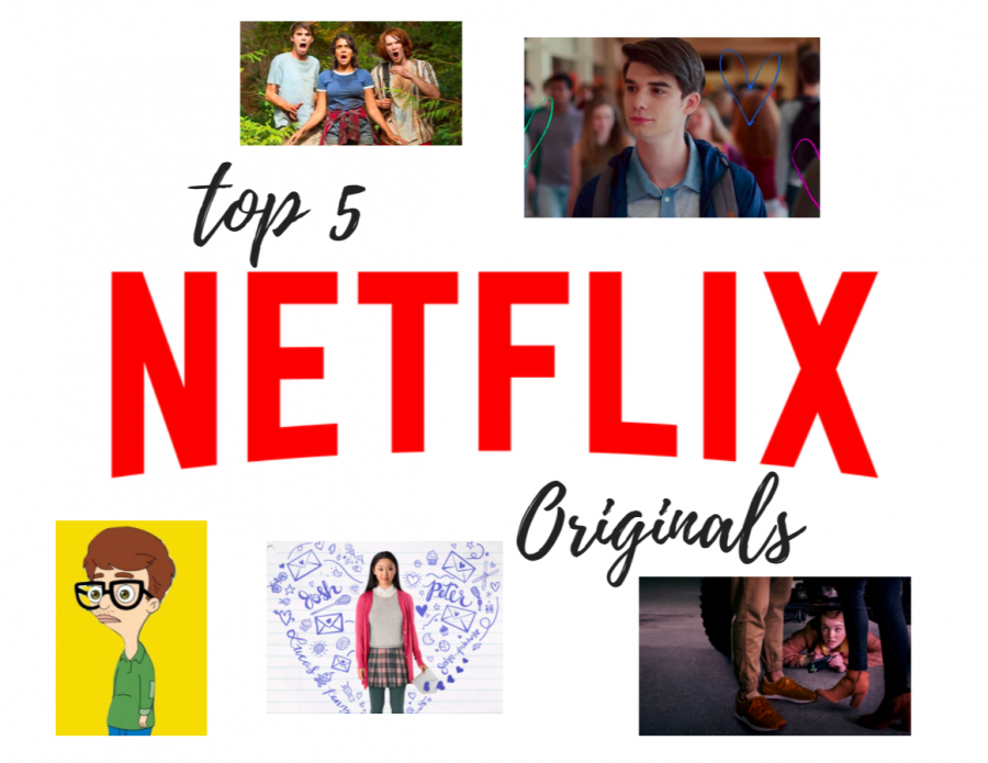 Searching+through+of+all+the+Netflix+originals%2C+movie+and+television+show-lovers+constantly+weed+through+the+category+for+something+new+and+funny.+These+five+shows+create+relatable+scenarios+about+all+kinds+of+topics+such+as+puberty+and+dating.+