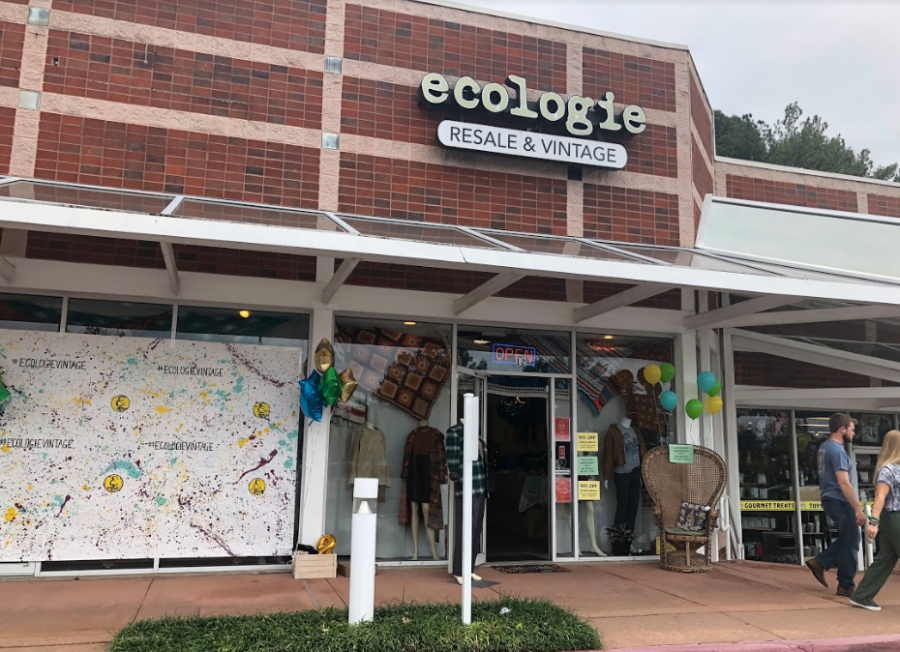 Ecologie+celebrated+their+8+years+in+business+by+opening+its+doors+for+a+sale.+Taking+20+percent+off+every+item+in+the+store%2C+the+day+full+of+celebration+brought+customers+from+all+over+Kennesaw+to+enjoy+the+vintage+clothing+and+sunny+dispositions.+%E2%80%9CJust+because+you+don%27t+love+something+anymore+doesn%27t+mean+someone+else+wont+love+it%2C%E2%80%9D+co-owner+Chelsea+Marquez+said.+