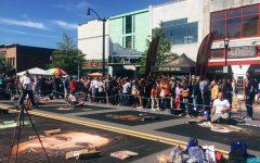 Van Gogh takes to the streets: Annual Chalktoberfest impresses community