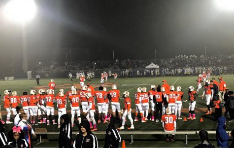 """The Varsity football team suffered an incredible loss against McEachern on October 26. The team takes the outcomes from the past game and keeps them in account in order to prepare for the upcoming game against Hillgrove. """"It's [this season] been an awesome experience, but I know we could've done better than we did. But [the outcome] is not a representation of how the team plays overall,"""" Varsity football senior kicker Will Aldridge said."""