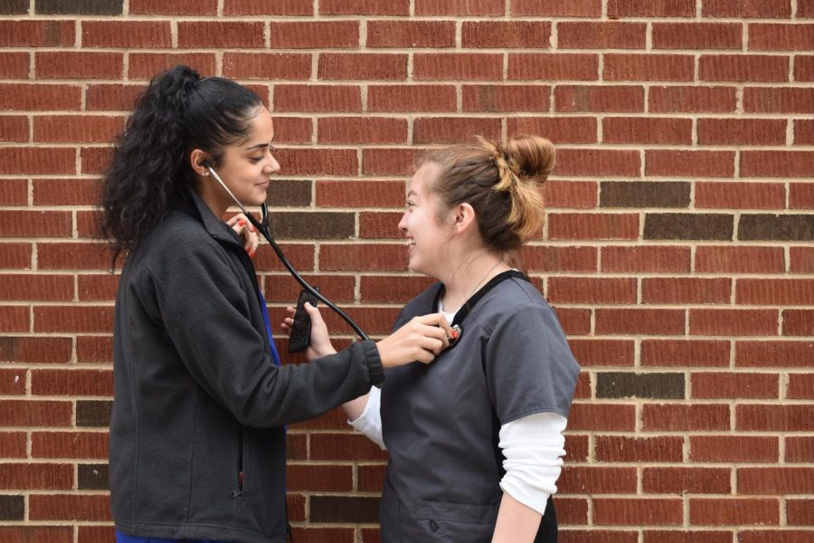 "Students closed off Red Ribbon week by dressing up as their future career. Careers ranging from plummers to doctors roamed the halls of NC. ""I have always wanted to be an anesthesiologist nurse, and today was the day I could live out my dream of being that,"" senior Judy Mihyar said."
