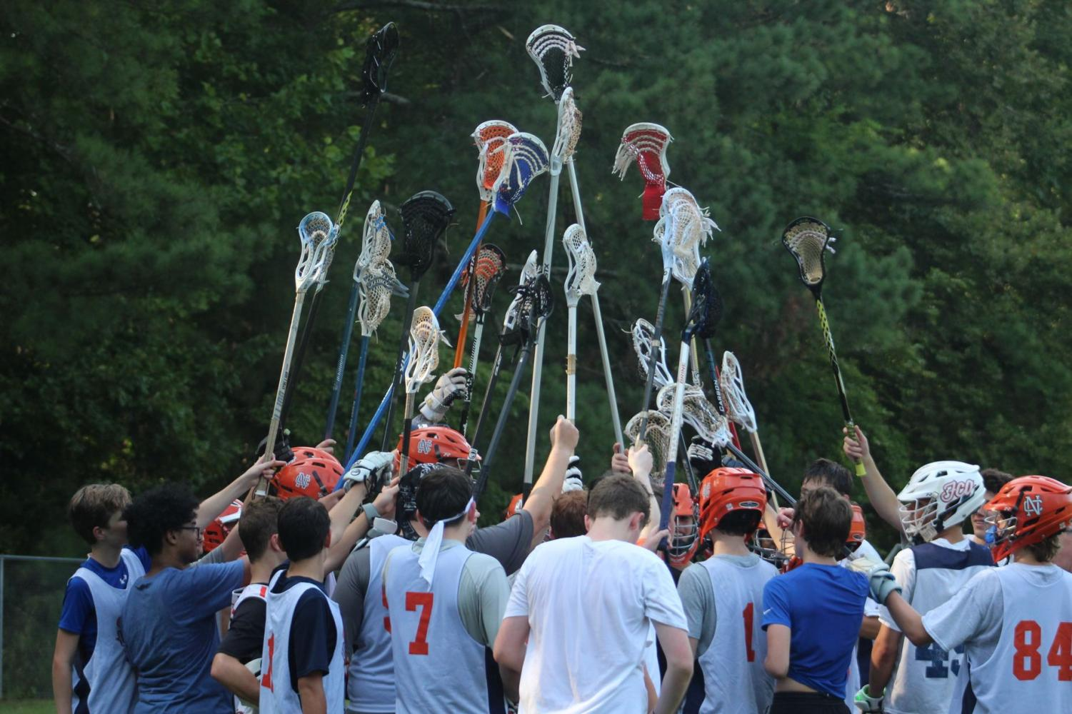 Boys Fall Lacrosse ends their last practice before going to their final tournament. The team leaves everything out on the field to prepare themselves for hard competition. The bittersweet end of fall lacrosse kicks off the beginning of spring lacrosse where teammates remain hopeful and excited for prosperity.