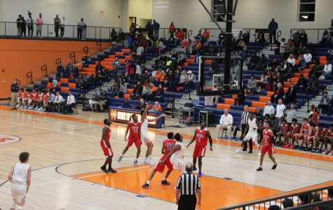 Fast break into the new Arena for varsity basketball