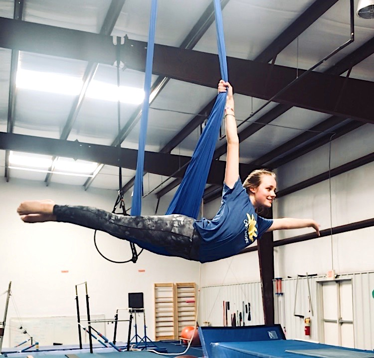 Dasher began pursuing her extraordinary talent of Aerial Silks 8 years ago while in 3rd grade. She attends the Rock Climbing Gym, Escalade, 3 to 4 days a week in 1 hour practices. Dasher plans to further develop her skills by traveling and experiencing new places to perform, inspiring young learners to take on the challenge.