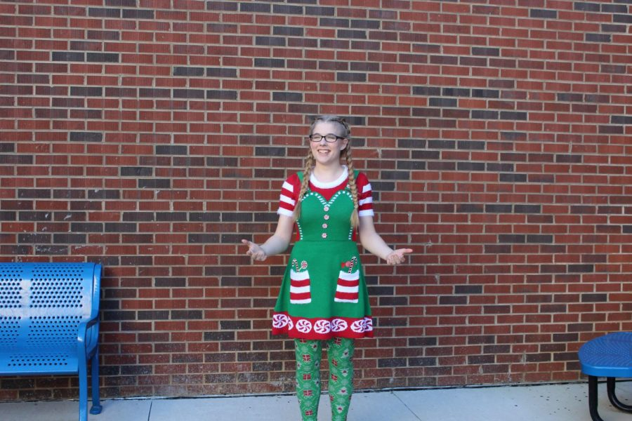 Today%2C+NC+hosted+their+annual+Tacky+Sweater+Day+to+spread+holiday+cheer+all+over+the+school.+Students+that+wear+silly+sweaters+receive+a+free+cookie+during+lunch%2C+as+well+as+the+pride+of+wearing+their+holiday+spirit.+%E2%80%9CSeeing+everyone+in+holiday+sweaters+just+make+people+feel+happy%21%E2%80%9D+senior+Emily+LaPierre+said.