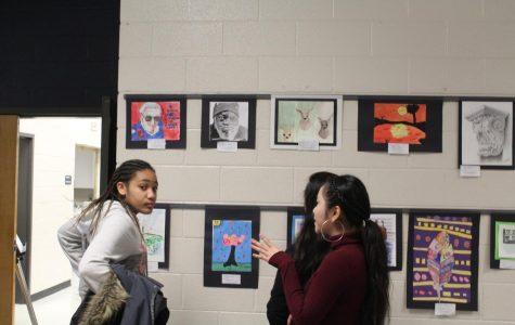 Art takes over NC's halls!