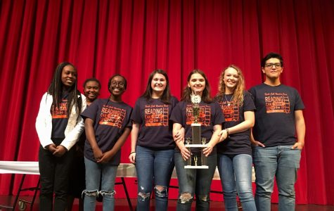 Reading bowl team earns third place in annual competition