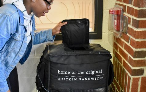 "Students normally enjoy their chicken breakfast sandwiches, but today, vendors surprised students and teachers with Chick-fil- A's signature breakfast sausage sandwich. ""I was surprised that they started selling sausage biscuits. I'm happy that they're here because you have a variety and you can actually choose now,"" junior Juliana Charles said. Students can find this sandwich variation outside Admin 1, which will surely fulfill the hunger of any meat-loving teenager."