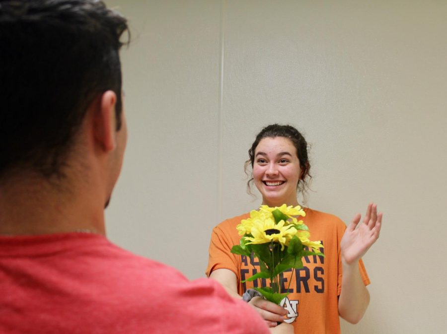 "The true meaning of Valentine's Day, showing appreciation towards a loved one, can present itself through even the smallest gesture. ""I think Valentine's Day has turned into a materialistic event instead of the focus being on the appreciation of a relationship, which can be achieved just by gifting flowers or candy,"" sophomore Lillian Southall said."