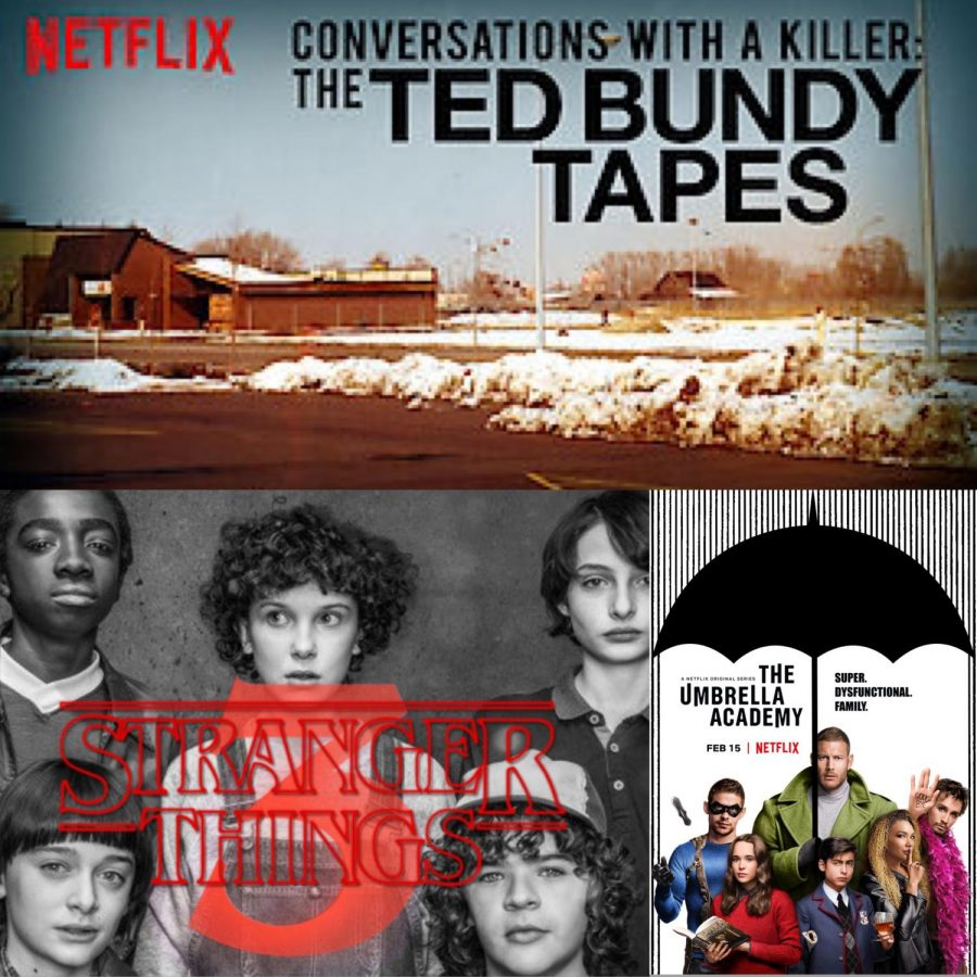 "This year marks a revolution of Netflix Originals. With shows all about Ted Bundy and his life as a serial killer to superheros being adopted to save the world after their father's death. Excited to watch more shows Netflix fan and sophomore Daniella King watched Conversations with a Killer; the Ted Bundy Tapes and loved it immediately. ""I could not stop watching it as soon as I started it, it was so good and I would for sure watch it again"" King said. Fans prepare with all the originals coming out and could not be more excited for the upcoming shows."