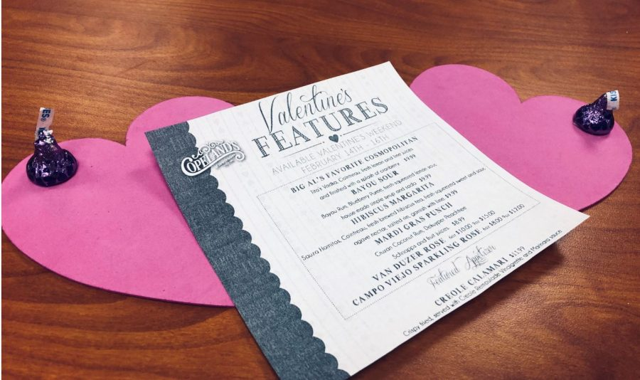 Celebrating love and relationships on this day of past forbidden weddings and festive whippings bring a smile to most people's hearts. The spread of kindness and generosity as well as the creative or cheesy dates that may accompany that. This Valentine's day Copeland's on Barrett Parkway offers a specialized Valentine's menu with decreased prices for one's eating pleasure.