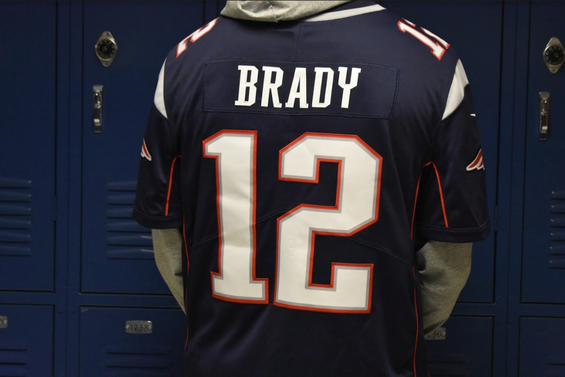 "Junior Tanner Corbett wore his Tom Brady sports jersey to celebrate the New England Patriots' win during Sunday's Super Bowl LIII. The Patriots won against the Los Angeles Rams 13-3. ""I knew from the beginning the Patriots were going to win, however, I was surprised about how well the defense was played from both teams,"" Corbett said."