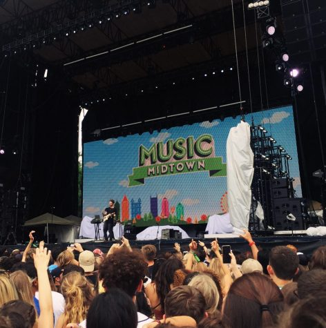 "While students anxiously look forward to Music Midtown in September, there are still smaller festivals in the spring and summer season that they can attend and enjoy. ""Music Midtown was such an experience, I want to go back already,"" junior Ashley Skaggs said."