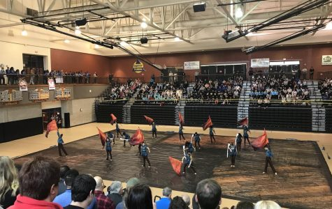 All that glitters: NC winter guard