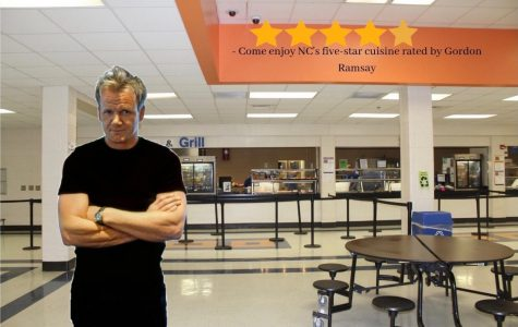 "Gordon Ramsay makes an appearance in the school cafeteria as he tries the flavorful dishes for himself. ""I believe our school lunches here are truly something to be proud of. I always thought North Cobb would be known for our competitive and hard-working students. However, our tasty lunches outshine those in all of the United States of America,"" NC principal Matthew Moody said. NC continues to boast of their five-star cuisine for lunch, as they redefine the true meaning of a ""school lunch""."