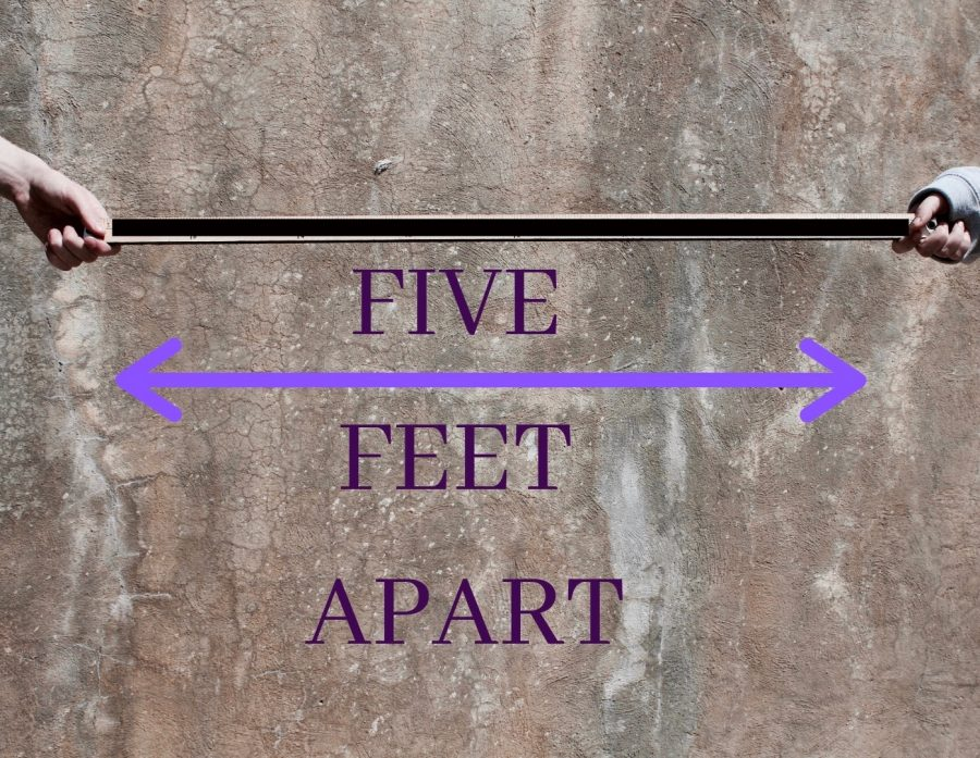 Five+Feet+Apart+featured+a+touching+theme%2C+exposing+the+relationships+between+those+with+cystic+fibrosis%2C+their+families%2C+and+how+it+impacts+their+decisions.+The+movie+brings+awareness+to+the+cystic+fibrosis+community+and+showcases+an+accurate+depiction+of+how+these+individuals+live.%0A
