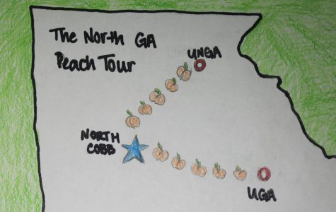 "Their positions near the top of the list of schools applied to by NC students make UGA and UNG ideal places for students to visit during their time on the Peach Tour.  ""We chose North Georgia and UGA because they're close in [the] vicinity and we can get there with no problems. We have a great ROTC program here. North Georgia has an ROTC program that students always look at, and UGA is one of the top schools that students tend to apply to. The students that are interested can see the nature of both [schools],"" Aldridge said."