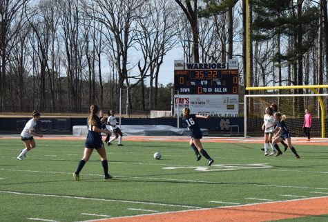 Girls' varsity soccer fights Lupus