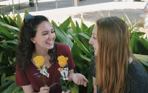 NHS welcomes new members with yellow roses