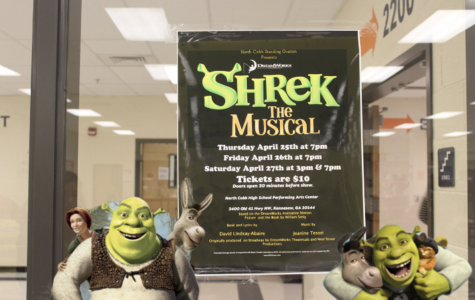 NC's Standing Ovation presents Shrek the Musical, a play based on the Dreamworks animated movie. The play will take place on April 25, 26, and 27 in the Performing Arts Center and offers a chance for seniors to show off their theatrical talent for the last time of their high school career. Come see the production that promises to give the audience a night to remember.