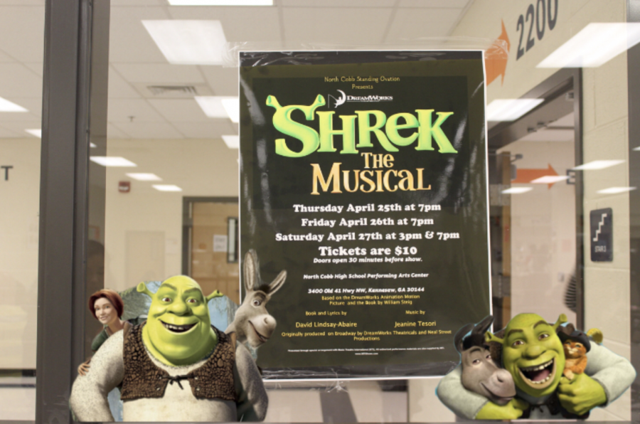 NC%E2%80%99s+Standing+Ovation+presents+Shrek+the+Musical%2C+a+play+based+on+the+Dreamworks+animated+movie.+The+play+will+take+place+on+April+25%2C+26%2C+and+27+in+the+Performing+Arts+Center+and+offers+a+chance+for+seniors+to+show+off+their+theatrical+talent+for+the+last+time+of+their+high+school+career.+Come+see+the+production+that+promises+to+give+the+audience+a+night+to+remember.+