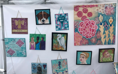 The Acworth Art Fest took place between April 6 and 7. The event offered a common ground for artists and creators to present their work. Art Fest participant Hannah Coker displayed 13 pieces of her work in hopes to meet new people and sell her products.
