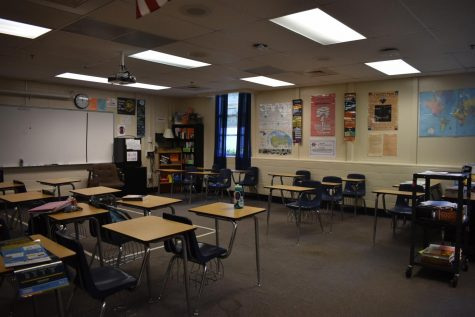 It's quiet without the seniors.