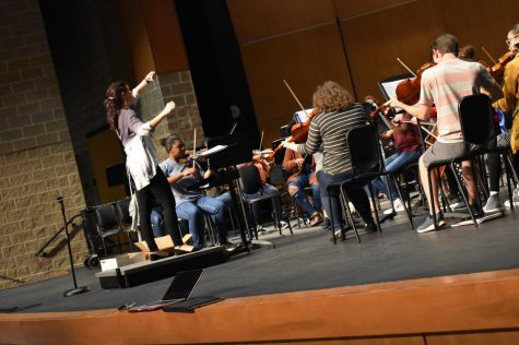 Orchestra's last hurrah!