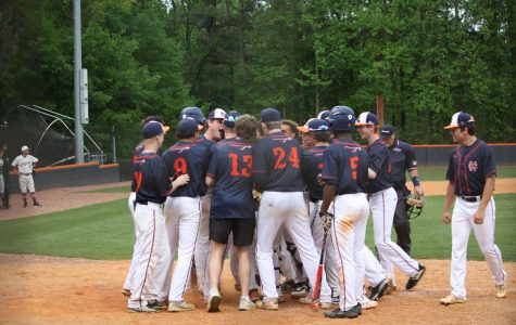 NC varsity baseball sends off seniors with win over Hillgrove Hawks