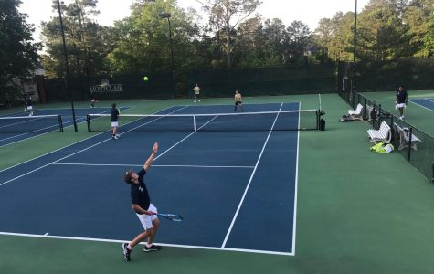 NC Boys' varsity tennis: Great end to a growing season