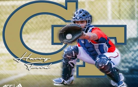Junior Harry Ford recently committed to Georgia Tech after playing baseball for 13 years. His hard work and consistent improvement paid off because he received an offer and partial scholarship which he looks forward to pursuing.