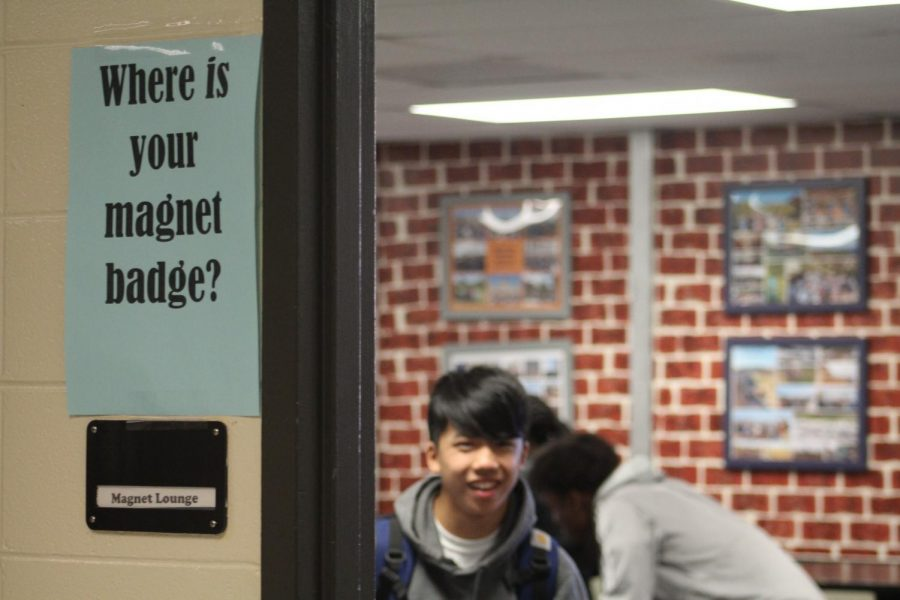 "The Magnet lounge, only available to students a part of the International Studies Magnet program, remains fairly popular amongst the Magnet student body. Though occasional messes and run down couches, the Magnet lounge remains a great area for students to debrief during their 26 minute lunch break. ""I love the diverse people, food, and smells that the Magnet lounge brings"" said Magnet junior Nathan Daniels."